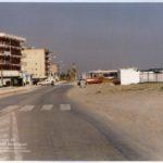 Antigua carretera playa Canet d'en Berenguer