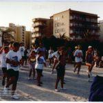 Activitat esportiva en pàrquing Rte. Sant Jordi