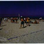 Actividad deportiva en la playa
